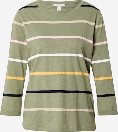 Tricou ESPRIT pe kaki / roz deschis / negru / alb, Vizualizare produs