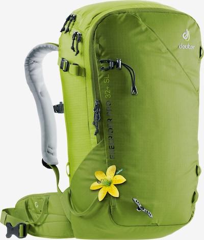 DEUTER Rucksack 'Freerider' in grün, Produktansicht
