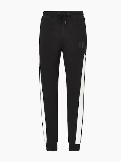 11 Degrees Pantalon 'ASTRO' en menthe / noir / blanc, Vue avec produit
