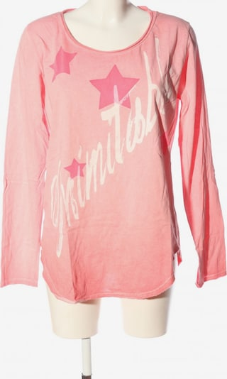 AUST Longsleeve in L in pink, Produktansicht
