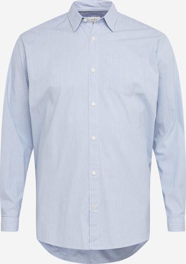 Camicia s.Oliver Red Label (Plus) di colore blu chiaro / bianco, Visualizzazione prodotti
