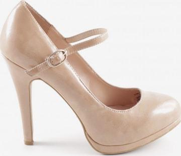ZARA High Heels in 37 in Beige