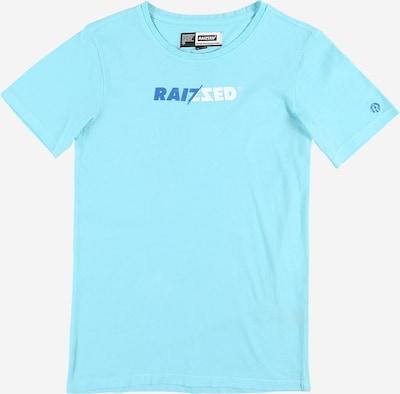 Tricou 'HUMBERTO' Raizzed pe albastru / turcoaz / alb, Vizualizare produs