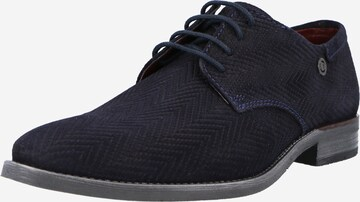 bugatti Fűzős cipő 'Lair' - kék