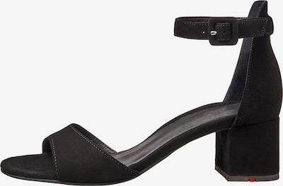 LLOYD Sandale mit Blockabsatz in schwarz, Produktansicht