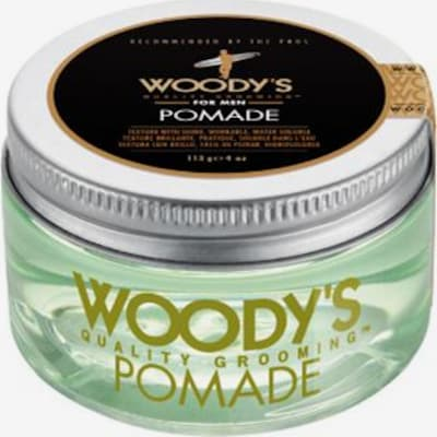 Woody's Haarpomade in transparent, Produktansicht