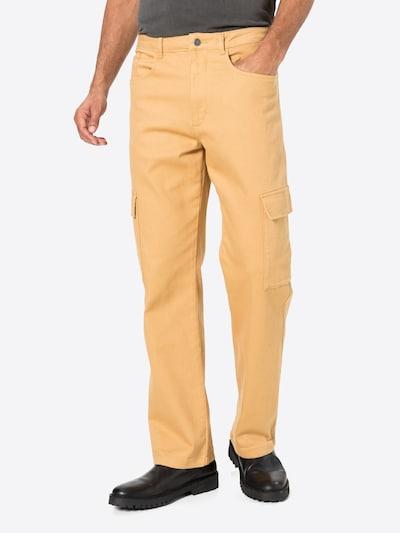 Laisvo stiliaus kelnės iš NU-IN , spalva - kupranugario: Vaizdas iš priekio