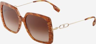 BURBERRY Sonnenbrille '0BE4332' in braun / braunmeliert / gold, Produktansicht