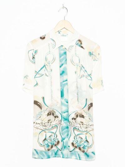 Olda Bluse in M in perlweiß, Produktansicht
