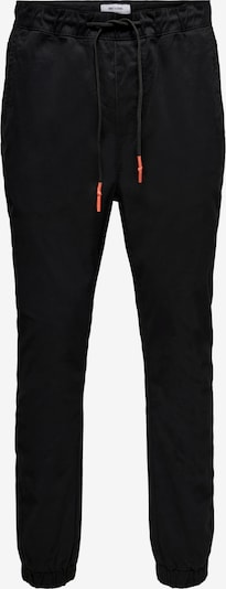 Only & Sons Chino trousers in orange / black, Item view