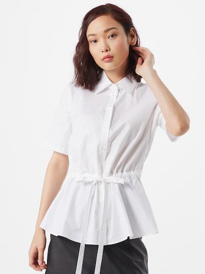 HUGO Bluse 'Ezina' in offwhite, Modelansicht