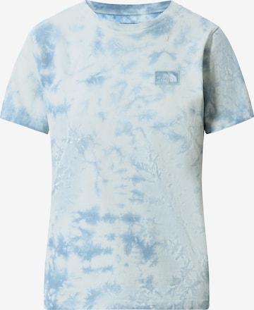THE NORTH FACE Μπλουζάκι 'BOTANIC DYE' σε μπλε