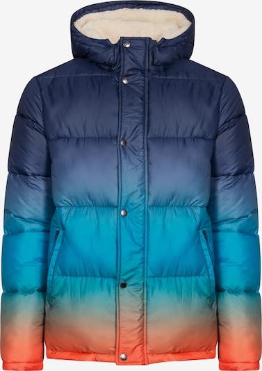 COLOURS & SONS Winterjacke 'Harvey' in blau / mischfarben, Produktansicht