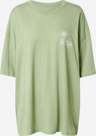 BILLABONG Тениска в ябълка / бяло, Преглед на продукта
