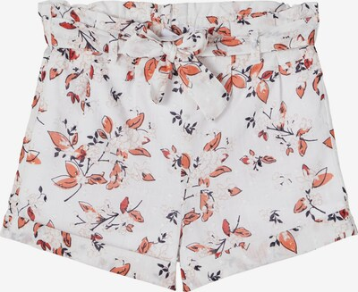 Pantaloni 'Hajetta' NAME IT pe roșu pepene / negru / alb, Vizualizare produs