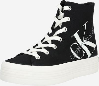 Calvin Klein Jeans Trampki wysokie 'ZOREDA' w kolorze czarny / białym, Podgląd produktu