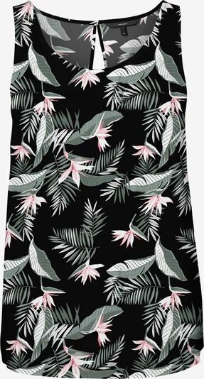 VERO MODA Top 'Simply' in oliv / rosa / schwarz / weiß, Produktansicht