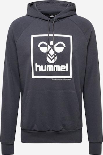 Hummel Sports sweatshirt 'HMLISAM' in Night blue / White, Item view