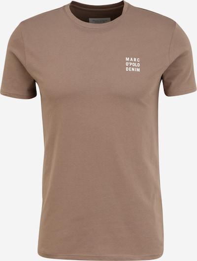 Marc O'Polo DENIM T-shirt i taupe / vit, Produktvy