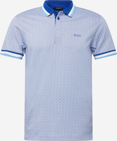 BOSS ATHLEISURE Tričko 'Paddy 2' - kráľovská modrá / svetlomodrá / biela, Produkt