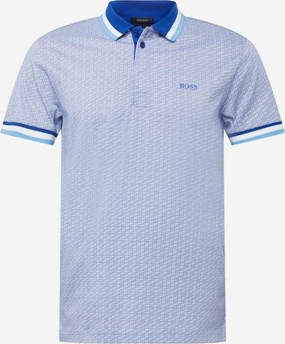 BOSS ATHLEISURE Bluser & t-shirts 'Paddy 2' i royalblå / lyseblå / hvid, Produktvisning