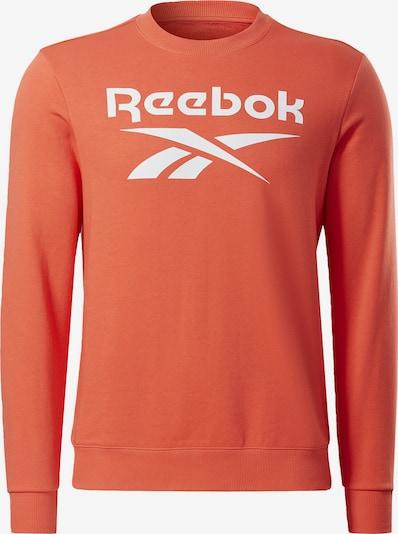 Reebok Sport Bluzka sportowa w kolorze łososiowy / białym, Podgląd produktu