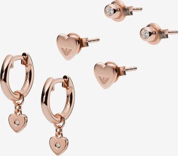 ARMANI Jewelry Set in Silver