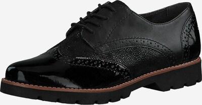 JANA Schnürschuh in schwarz, Produktansicht