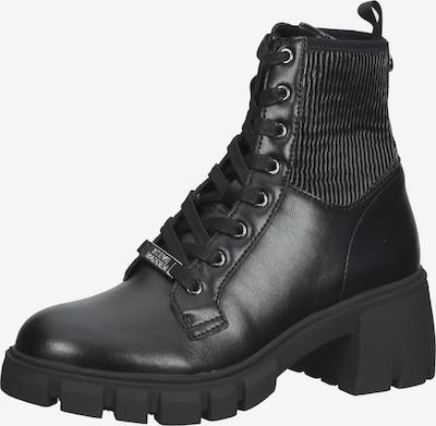 STEVE MADDEN Schnürstiefelette in schwarz, Produktansicht