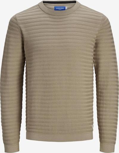 Jack & Jones Plus Pullover 'Mike' in greige, Produktansicht