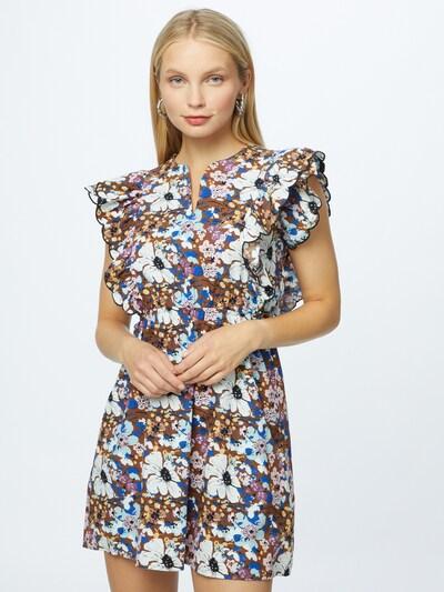 Rochie Trendyol pe maro / lila / negru / alb, Vizualizare model