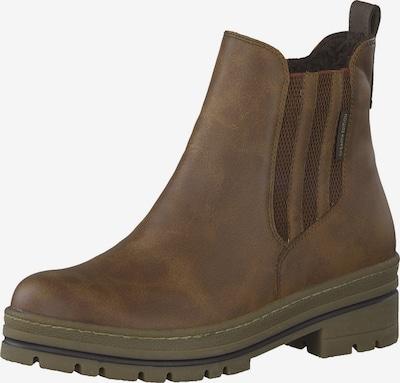 MARCO TOZZI Chelsea Boots en marron: Vue de face