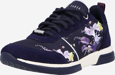 Ted Baker Sneaker 'Ceyyas' in navy / gelb / lila, Produktansicht