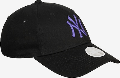 NEW ERA Cap 'League Essential 9Forty New York Yankees' in violettblau / schwarz, Produktansicht