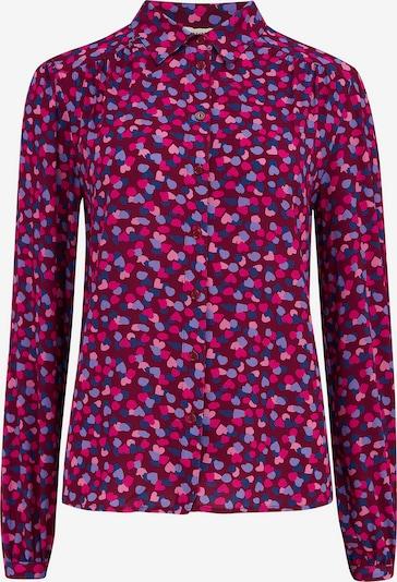 Sugarhill Brighton Blouse 'Queenie' in Dusty blue / Purple / Pink / Dark red, Item view