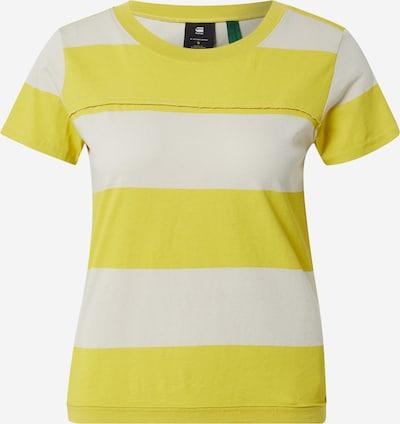 G-Star RAW Majica u senf / prljavo bijela, Pregled proizvoda