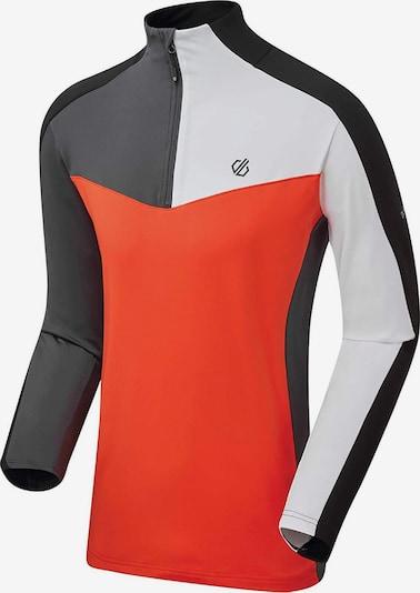 DARE 2B Sweatshirt ' Depose Core Stretch ' in schwarz / weiß, Produktansicht