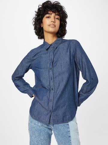 TOM TAILOR Блуза в синьо