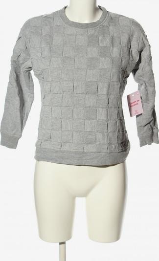 Topshop Sweatshirt in M in hellgrau, Produktansicht