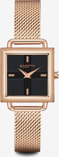 Glanzstücke München Armbanduhr in rosegold, Produktansicht