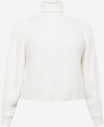 Missguided Plus Pullover in Weiß