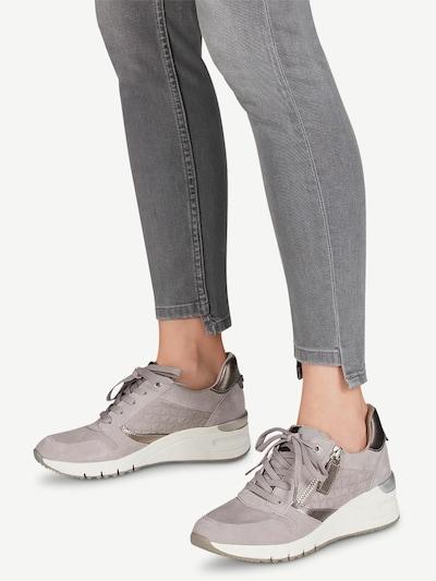 TAMARIS Sneaker in grau: Frontalansicht