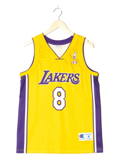 Champion Authentic Athletic Apparel Sporttrikot in M-L in gelb, Produktansicht