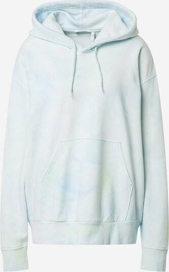 Bluză de molton 'Alisa' WEEKDAY pe albastru fumuriu / verde pastel, Vizualizare produs