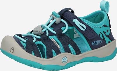 KEEN Sandale 'MOXIE' in türkis / dunkelblau, Produktansicht