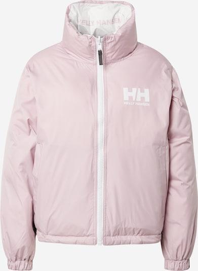 HELLY HANSEN Jacke in pastellpink / weiß, Produktansicht