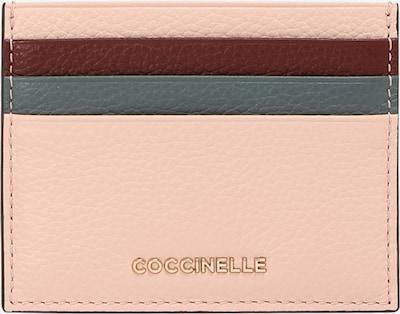 Coccinelle Pouzdro - světlemodrá / tmavě šedá / růžová / burgundská červeň, Produkt