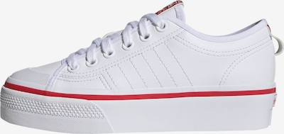 ADIDAS ORIGINALS Sneakers low 'Nizza' in Red / natural white, Item view