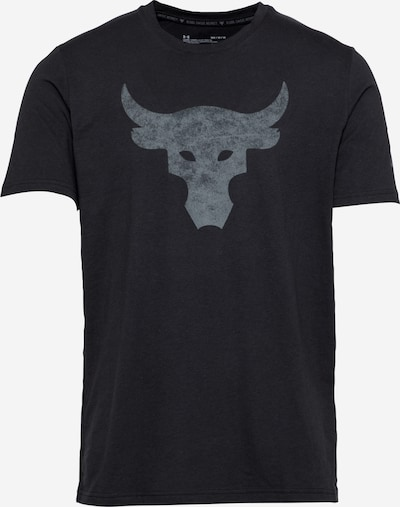 UNDER ARMOUR Funkční tričko 'Rock Brahma Bull' - šedá / černá, Produkt