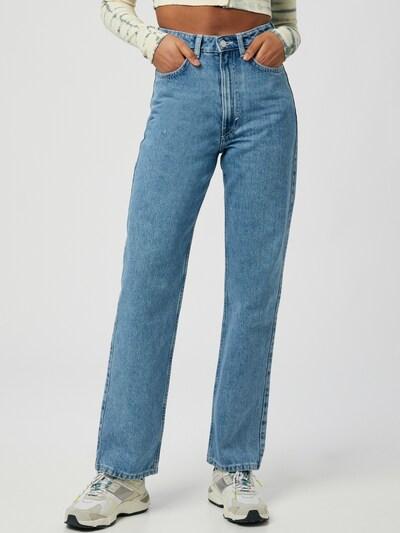 WEEKDAY Jeans 'Rowe Echo' in Blue denim, View model